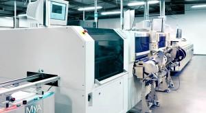 Assemblage électronique : chaine de montage CMS